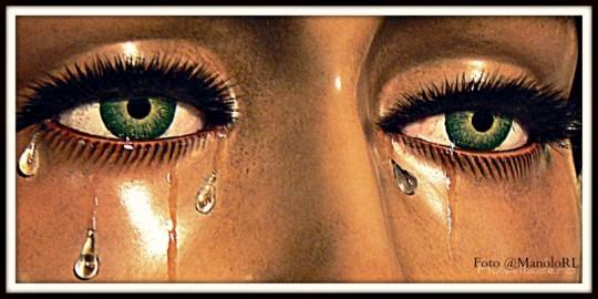 Ojos de Ntra Sra del Rosario Hdad San Pablo