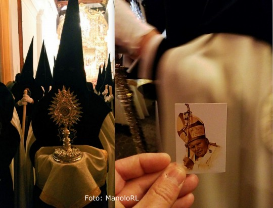 Reliquia San Juan Pablo II
