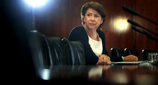 La ex consejera y ex ministra Magdalena Álvarez