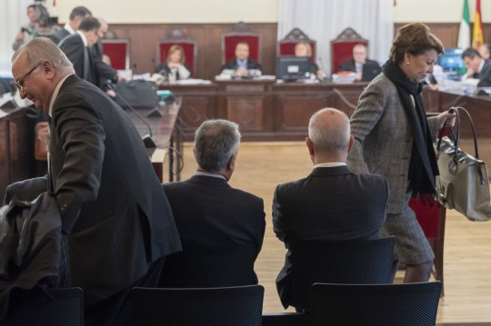 COMIENZA JUICIO DE LOS ERE CONTRA 22 EX ALTOS CARGOS GOBIERNO ANDALUZ
