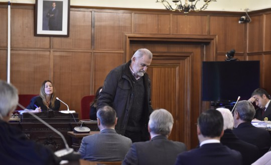 Audiencia de Sevilla   Sala del jurado  Comienza el juicio contra Torrijos y otras nueve personas por el fraude en la venta de los suelos de Mercasevilla