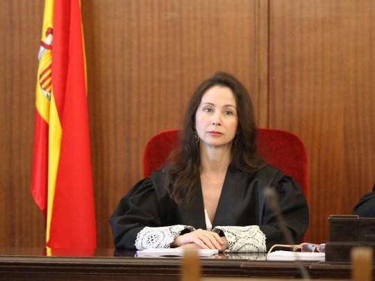 La juez Mercedes Alaya, en el tribunal del caso Contsa.