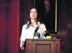 Alaya, en un momento de la entrega del premio jurista del año. Foto: José Ramón Ladra