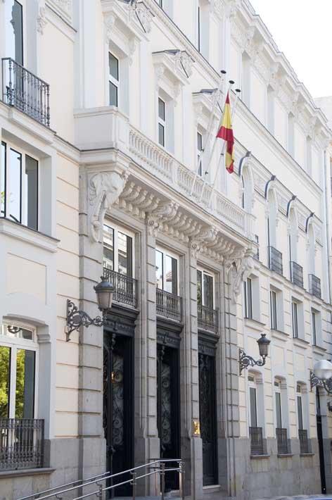 Sede del CGPJ en Madrid