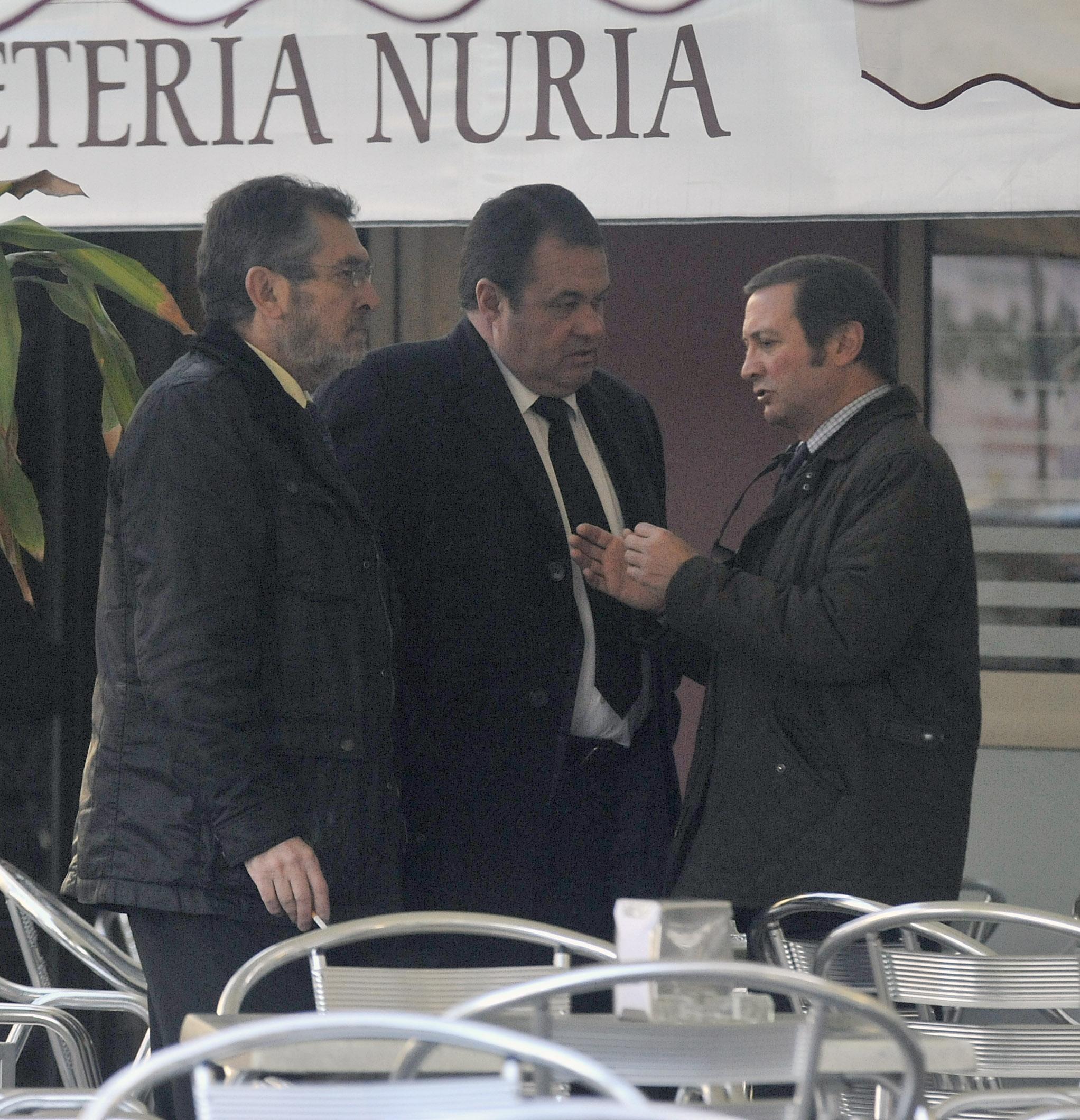 El ex delegado de Empleo Antonio Rivas y el ex diputado del PSOE Ramón Díaz Alcaraz.