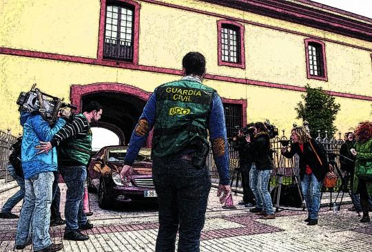 UN DETENIDO EN LA DIPUTACIÓN DE SEVILLA Y REGISTROS EN VARIOS AYUNTAMIENTOS