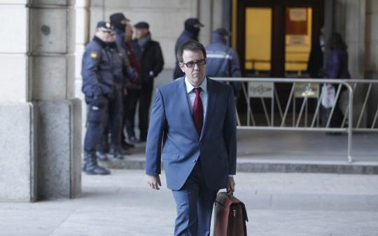 El expresidente de la Junta de Andalucia Jose Antonio Gri?an