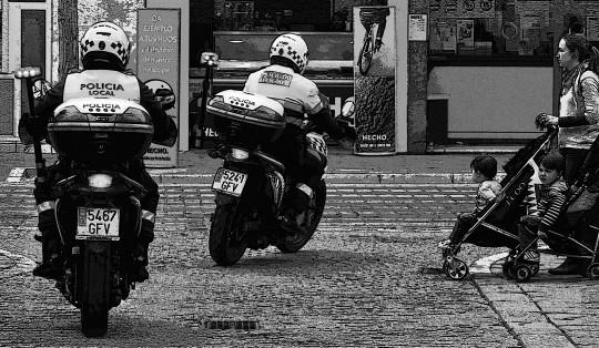 fotos de policias locales