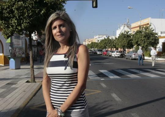 ANA HERMOSO, ALCALDESA DE BORMUJOS