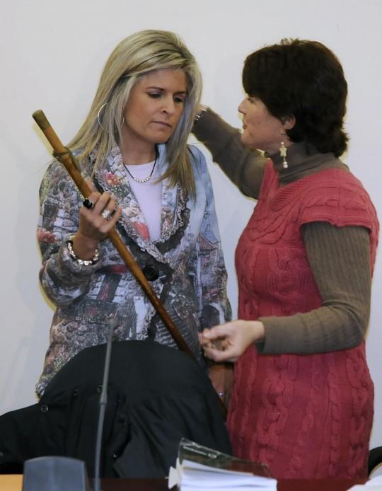 Acto de investidura de la nueva alcaldesa de la localidad.