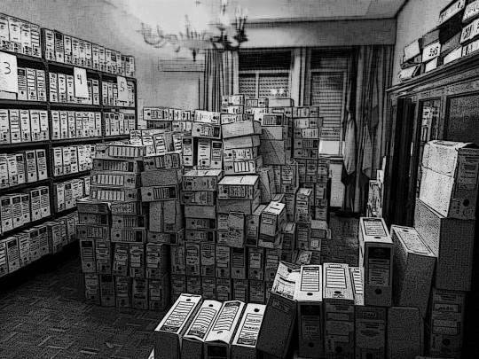 cajas de expedientes