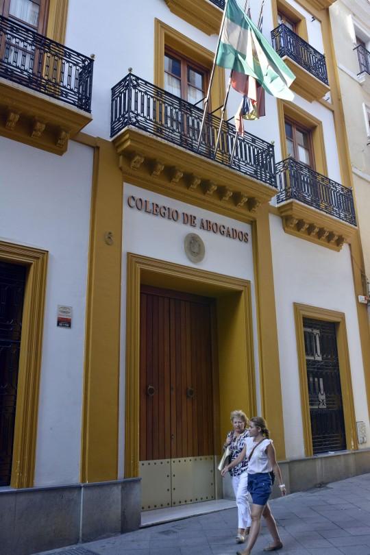 La sede del Colegio de Abogados de Sevilla, en la calle Chapineros