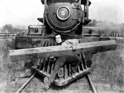 El maquinista de la General (1926, protagonizada por Buster Keaton)