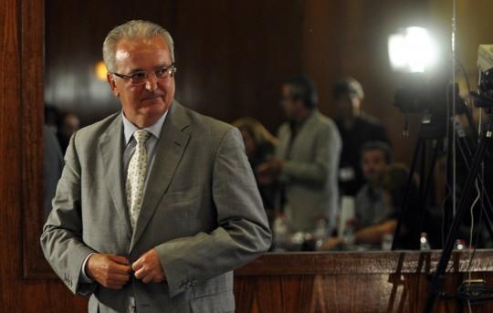 SEV24.el consejero Antonio Fernandez en la comisión de los ERE..Diario de Sevila/MANUEL GOMEZ