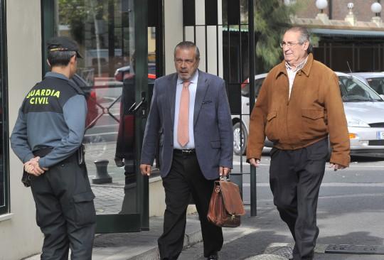 El ex concejal Manuel Gómez Lobo, a quien el juez atribuye cinco delitos relacionados con los pagos de Fitonovo.