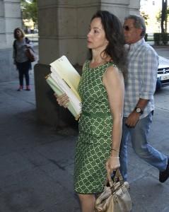 La juez Mercedes Alaya, esta semana en la Audiencia de Sevilla.