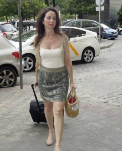 La juez Mercedes Alaya llega a los juzgados de Sevilla