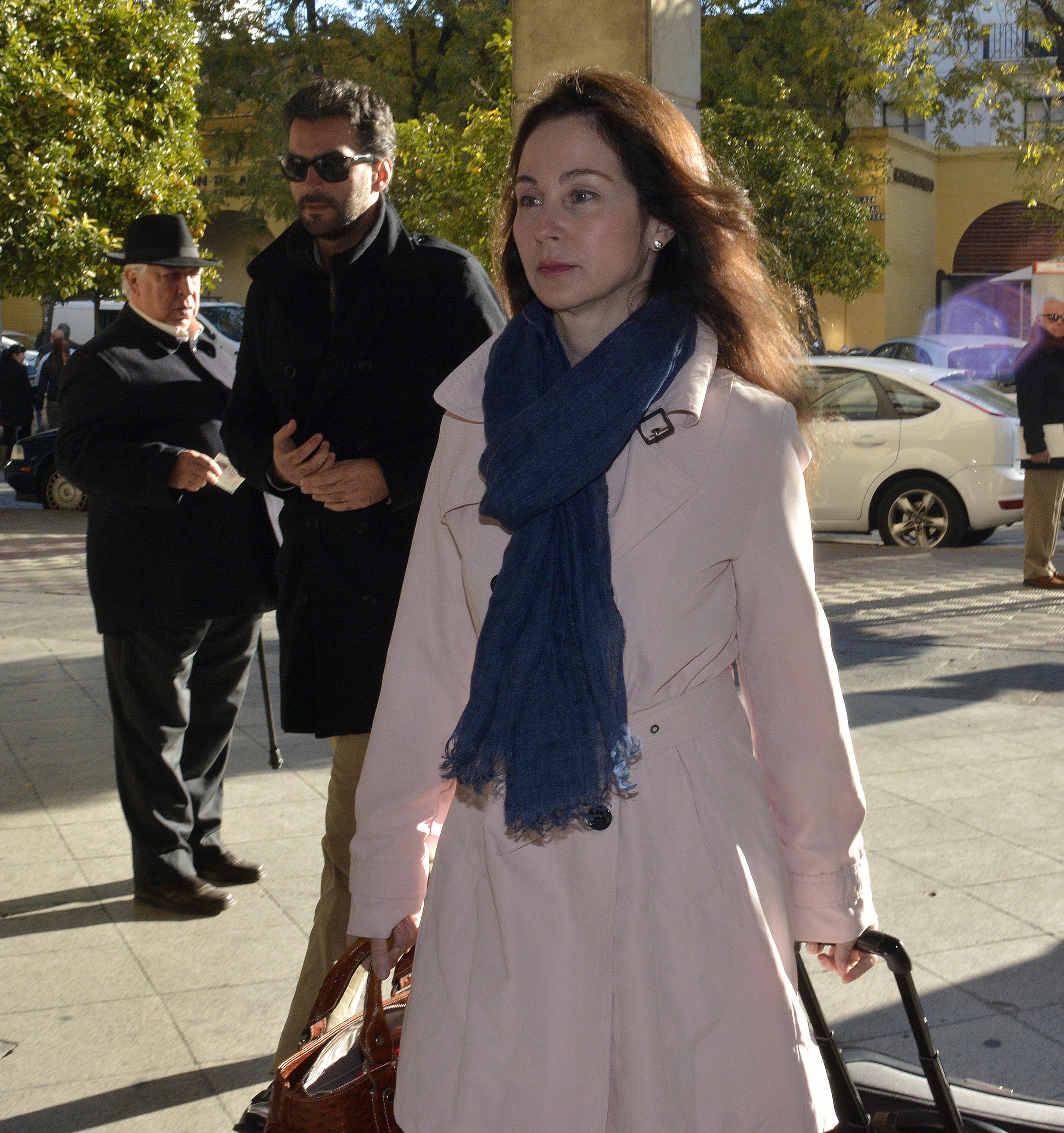 La juez Alaya llega a los juzgados de SEvilla