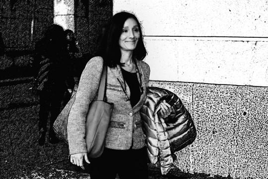 Juzgados del Prado Movida por el caso de los ERE  Habra que estar hasta las doce y algo para hacer varias cosas, incluido fotos a la juez Maria Nu?ez Bola?os para renovar el archivo