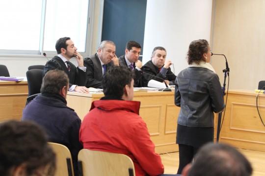 La madre del Cuco declara en el juicio por el quebrantamiento de la orden de alejamiento.