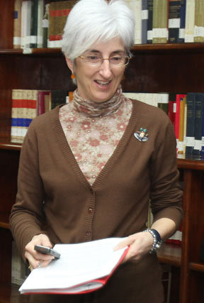 La fiscal jefe de Sevilla, María José Segarra.