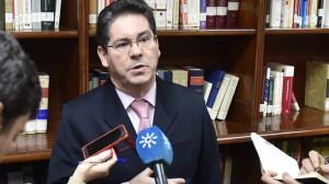 El presidente de la Sección Primera de la Audiencia, Pedro Izquierdo.