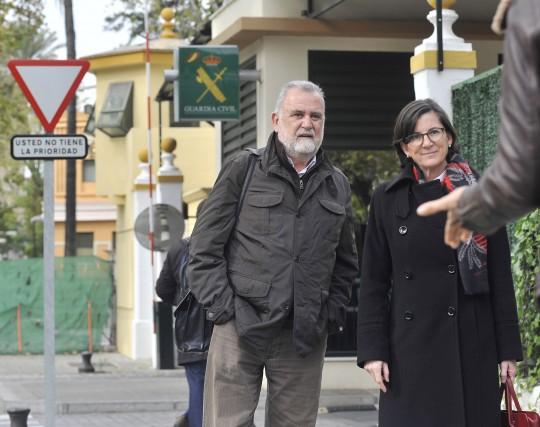 El ex primer teniente de alcalde Antonio Rodrigo Torrijos, cuando declaró ante la Guardia Civil por la Madeja.