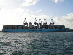 Estelle Maersk 23-II-10 Blog
