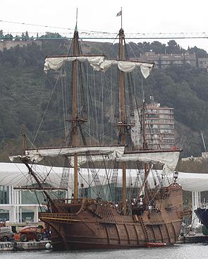 Galeon Andalucia en Málaga 24-III-10 blog 3