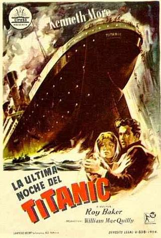 La ultima noche del Titanic
