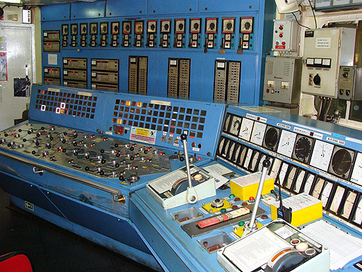 Engine Control Room BLOG