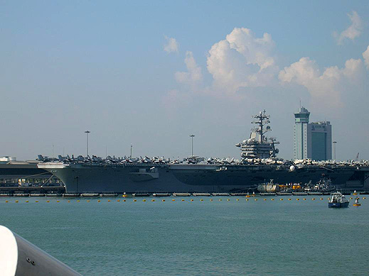 USS NIMITZ at Port Klang BLOG9