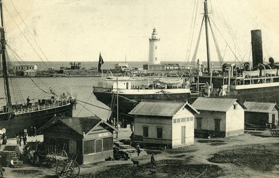 Vistas del Puerto de Málaga blog