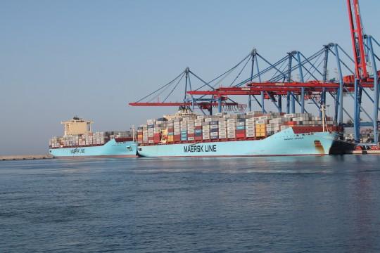Maersk Linquen y Maersk Lamanai 27-VI-134