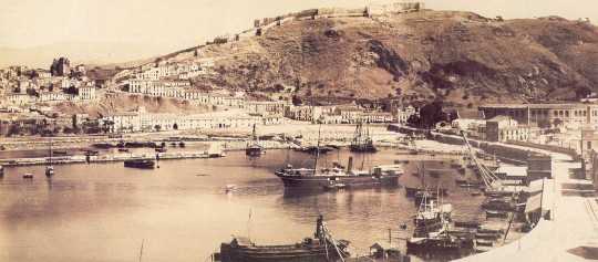 Puerto década 1890