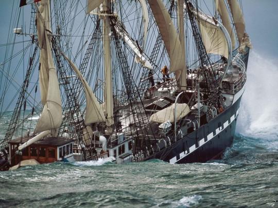 Innova-Belem-Tall-Ship-by-Philip-Plisson-Wall-Art