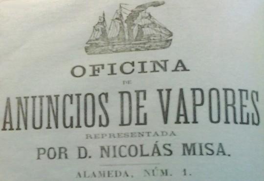 anuncio de vapores