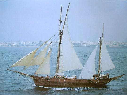 Místico navegando