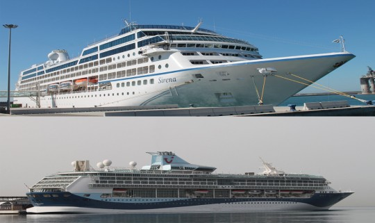Sirena y TUI Discovery