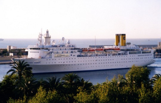 Costa Allegra 31-III-2001
