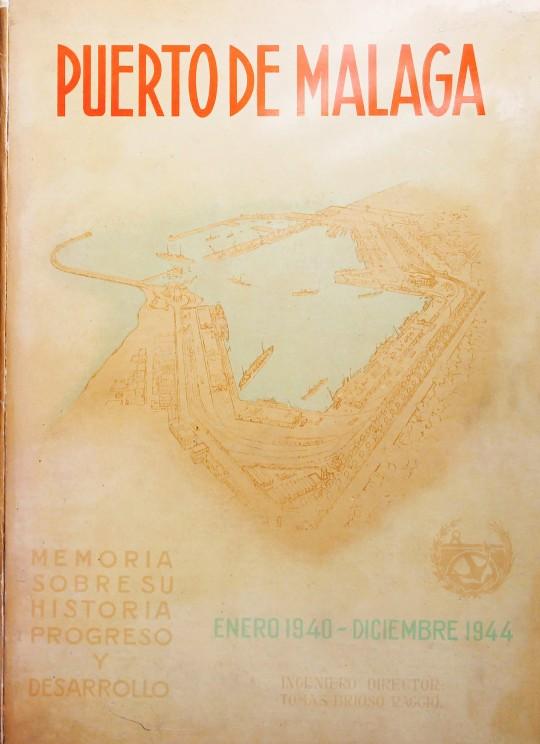 Portada libro Puerto de Malaga