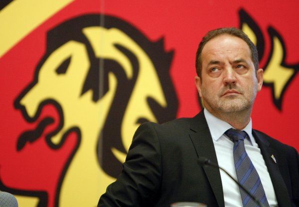 Agapito Iglesias, presidente del Zaragoza, último club en acogerse a la Ley Concursal / Efe