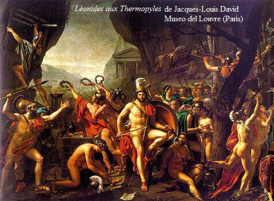 batallade las termopilas de david