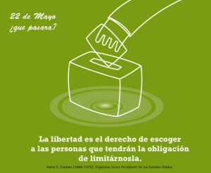 libertad de voto
