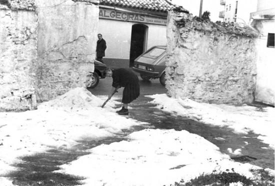 Nieve en Algeciras