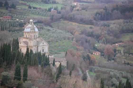 vistas desde montepulciano