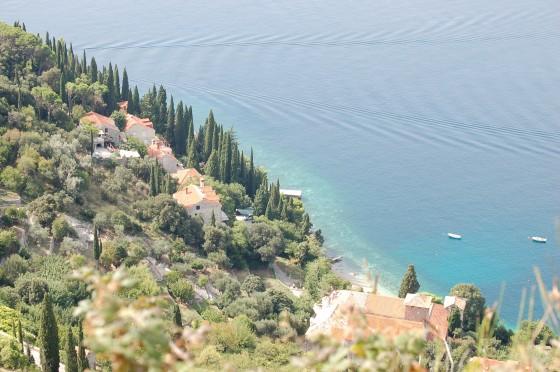 La Riviera de Dubrovnik, azul y verde