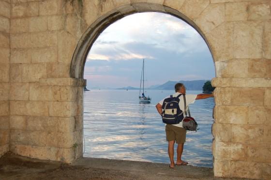 Atardercer profundo en Cavtat