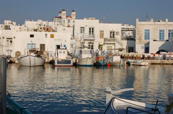 Naussa, a lo mejor el puerto más pequeño del mundo.