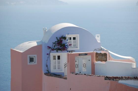 Una casa en Oia (Santorini)